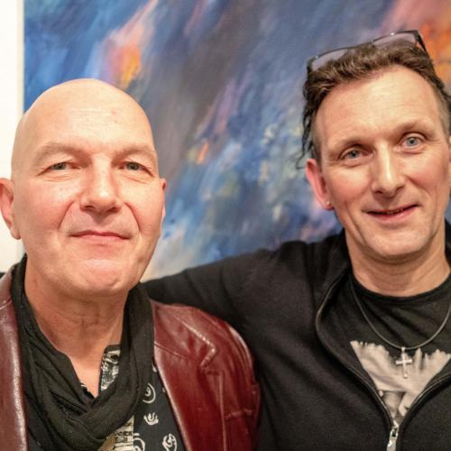 Jogler Vernissage mit Johann Ferchner